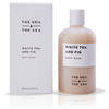 The Soil and the Sea White Tea and Fig Body Wash product and packaging.