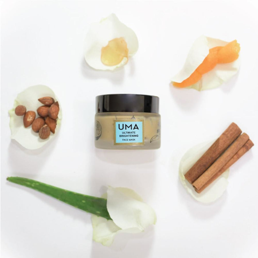 Uma Oils Ultimate Brightening Vegan Face Mask - Good Cubed Cruelty Free Online Beauty Marketplace