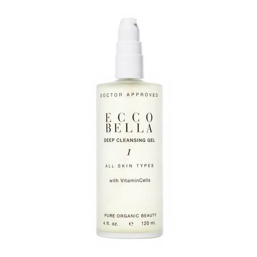 Ecco Bella Natural Deep Cleansing Gel w/ Soy Protein - Good Cubed Cruelty Free Online Beauty Marketplace