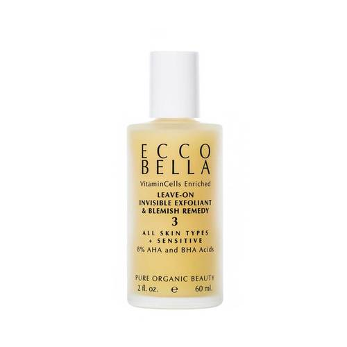 Ecco Bella Leave-On Invisible Exfoliant & Blemish Remedy - Good Cubed Cruelty Free Online Beauty Marketplace