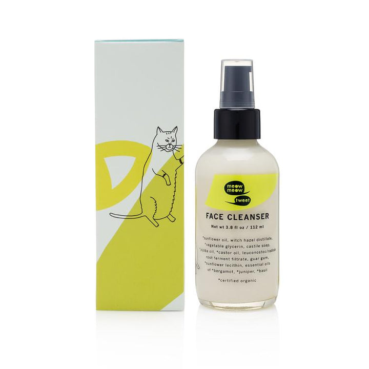 Meow Meow Tweet Vegan Face Cleanser - Good Cubed Cruelty Free Online Beauty Marketplace