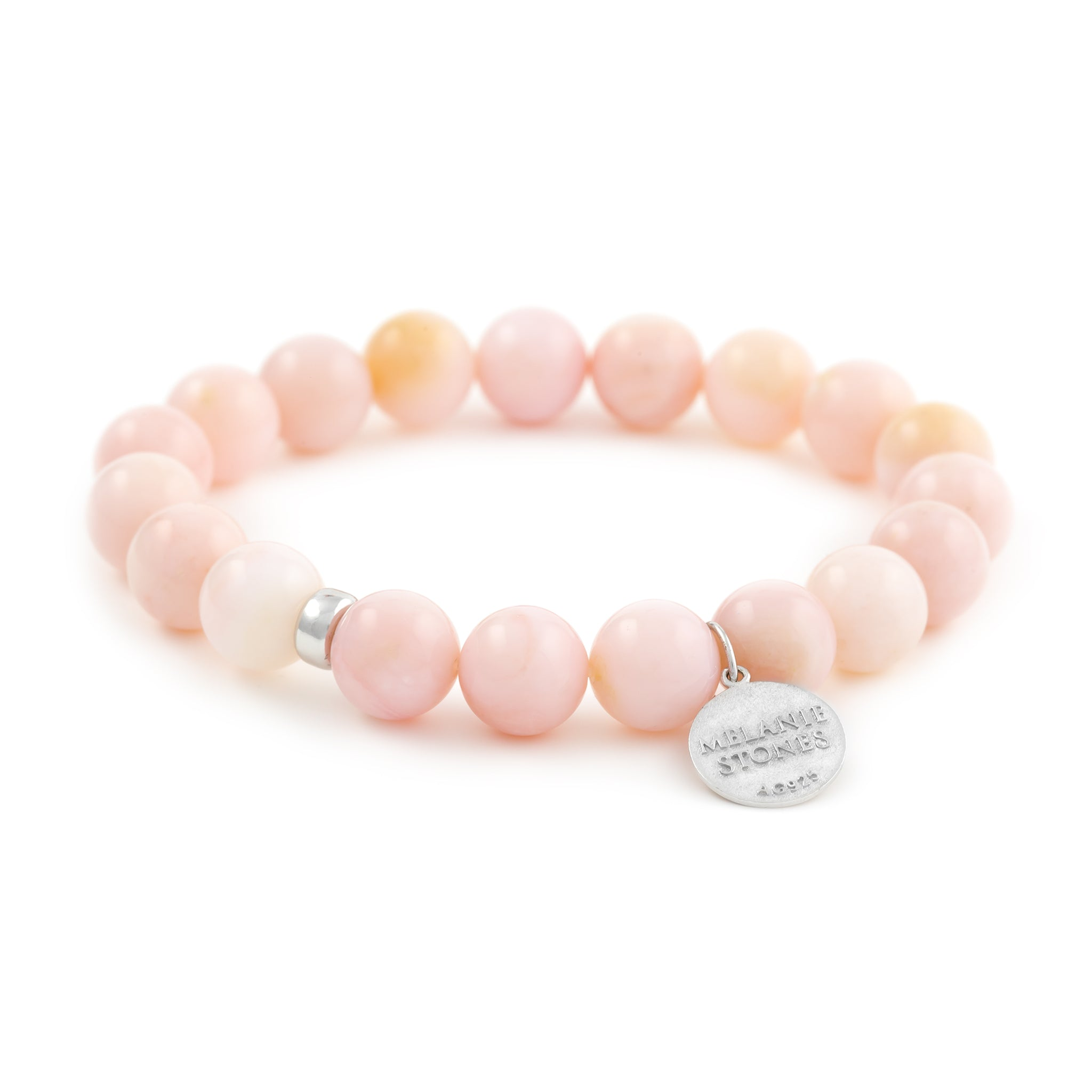 opal pink bead in natural charms item bangles bracelet newest head stone strand bracelets women buddha unique from girls accessories jewelry