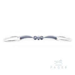 Fager Alice Titanium Bridoon Fixed Rings