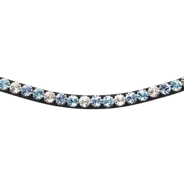 Montar Curved Mighty Mix Aquamarine Browband