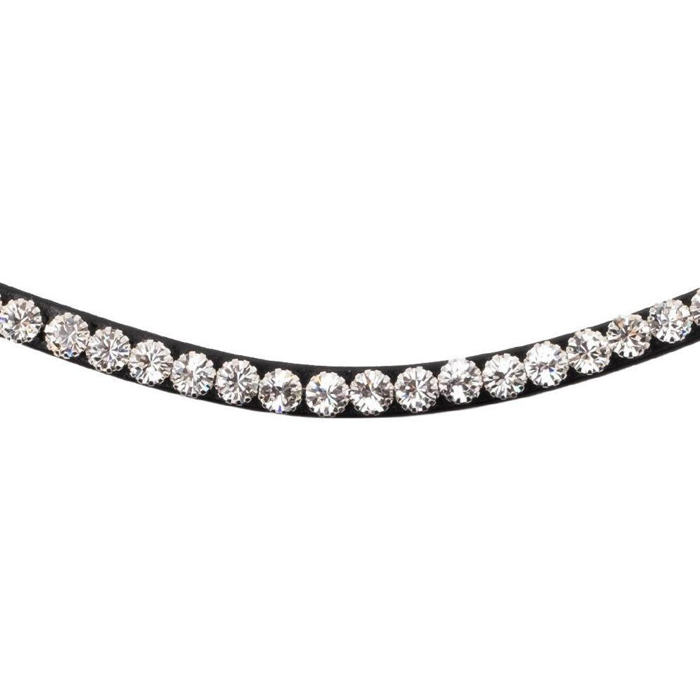 Montar Curved Mighty Silver Browband