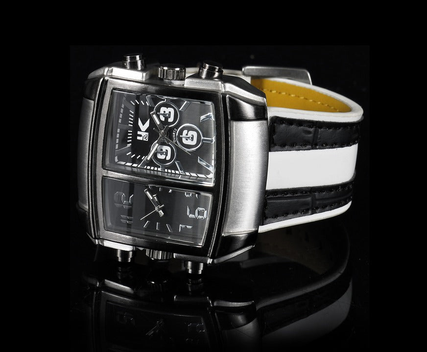 Real and elegant competitiveness in watches for men