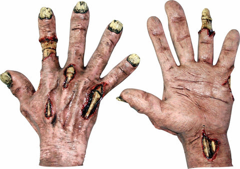 Zombie Flesh Latex Hands