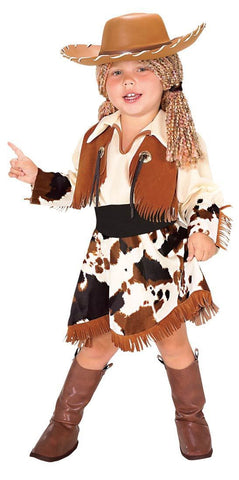 Cowgirl Costume Child Halloween Dress Up Toddler