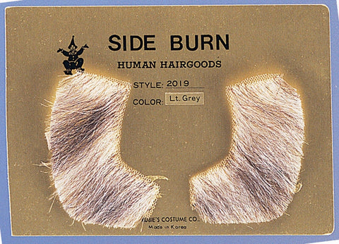 Sideburn Human Hair Theatrical Quality