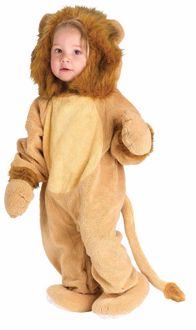CUDDLY LION PLUSH COSTUME 6-12 MONTHS