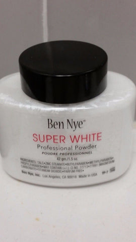 Ben Nye Super White 1.5 oz Powder