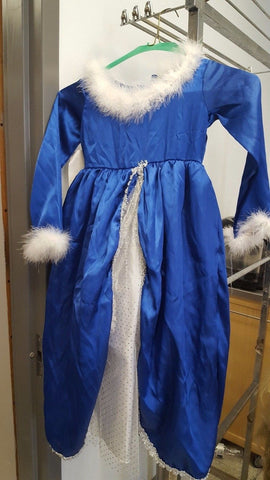 Snow Queen Princess Dress Up Costume Small