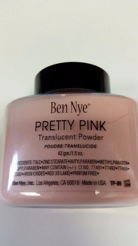 Ben Nye Pretty Pink Powder 1.5 oz