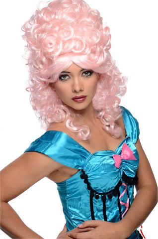 Burlesque Wig Dancer Showgirl Fancy Dress Halloween