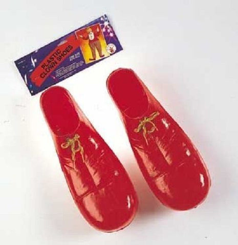 Clown Shoes Adult Over Sized Plastic