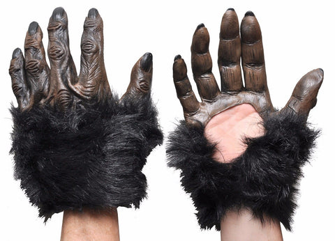 Gorilla Hands With Fur