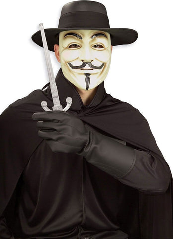Adult V for Vendetta Costume Kit