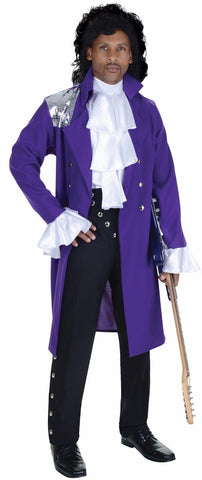 Prince Purple Rain Costume  Adult Men's One Size