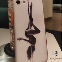 Coque iPhone silicone figures pole dance