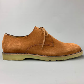 PS by PAUL SMITH Size 8 Tan Suede Rubber Sole Lace Up Shoes