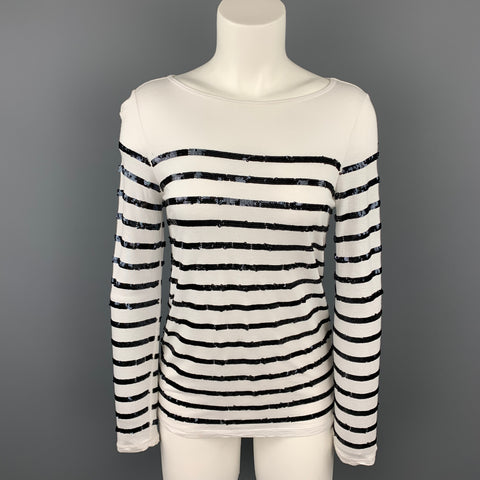 MICHAEL by MICHAEL KORS Size XXS White Rayon Pullover Sweater