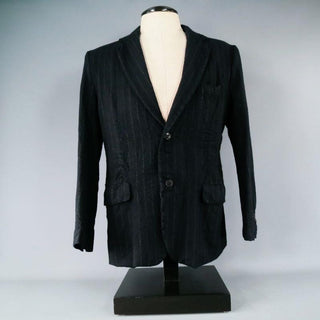 08SIRCUS by Kiminori Morishita 42 Regular Wool Navy Sport Coat