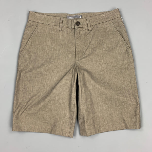 VINCE Size 28 Slate Cotton Zip Fly Shorts