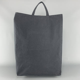 ACNE STUDIOS  Navy Canvas Leather Snap Tote Bag