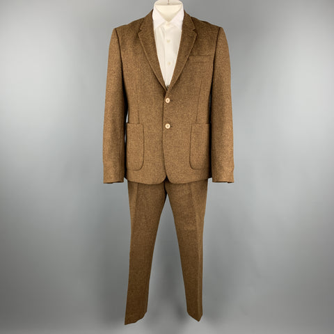 ACNE STUDIOS Size 44 Brown Tweed Wool Blend Nautical 36 31 Suit