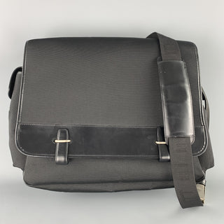 DUNHILL Nylon & Leather Mlti-Pocket Messenger Bag