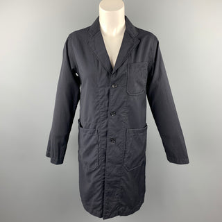 ENGINEERED GARMENTS Size S Black Wool Notch Lapel Coat