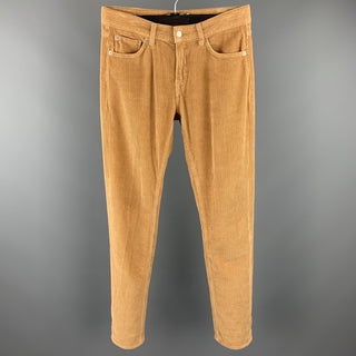 THE CORDS & CO Size 29 Tan Cotton Zip Fly Casual Pants