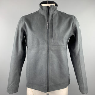ARCTERYX Size M Slate Wool Zip Up High Collar Diplomat Jacket