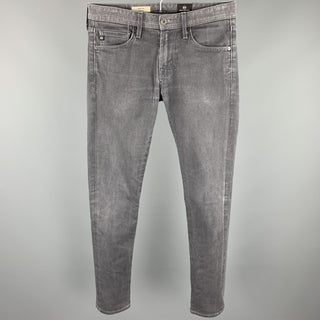 ADRIANO GOLDSCHMIED Size 30 Grey Wash Denim Zip Fly Jeans
