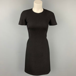 MICHAEL KORS Size 0 Black Crepe Shift Dress