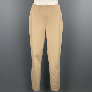 RALPH LAUREN Black Label Size 2 Beige Wool Blend Dress Pants