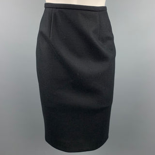 BARBARA TFANK Size 4 Black Pencil Skirt