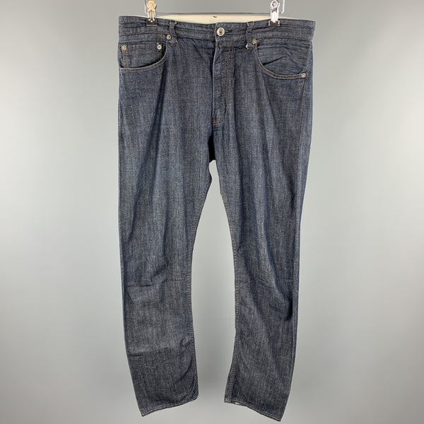 ENGINEERED GARMENTS Size 32 Indigo Contrast Stitch Cotton Zip Fly Jeans