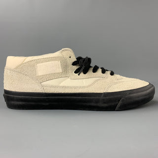 VANS x OUR LEGACY Size 9.5 White Suede Lace Up Sneakers
