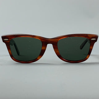 Vintage RAY-BAN B&L Brown Acetate Wayfarer Sunglasses