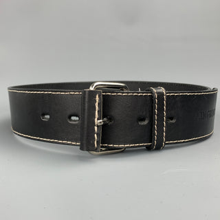 IVAN GRUNDAHL Waist Size 31 Black Leather Belt
