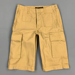 MARC by MARC JACOBS Size 28 Khaki Cotton Cargo Shorts