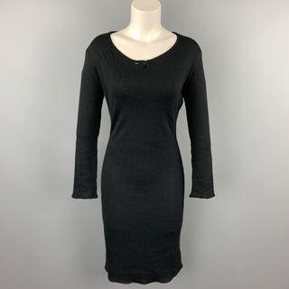 MAISON MARTIN MARGIELA Size S Black Viscose / Wool Sweater Dress