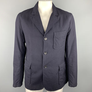 ENGINEERED GARMENTS Size 44 Navy Wool Notch Lapel Sport Coat