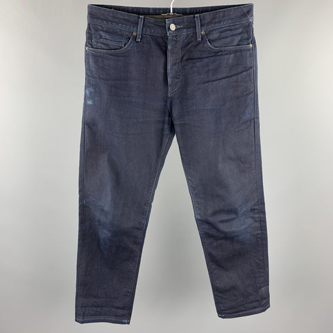 LEVI'S MADE & CRAFTED Size 32 Indigo Selvedge Denim Jeans