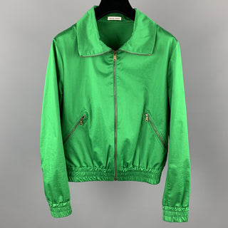 TOMAS MAIER Size XXS Green Cotton / Elastane Jacket