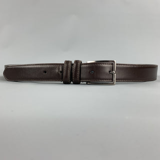 COACH Size 38 Brown Leather Belt