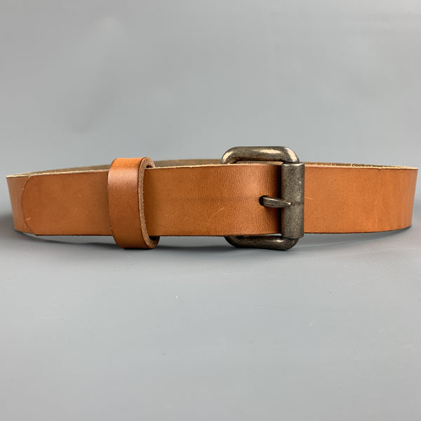 KENTON SORENSON Size 32 Tan Leather Belt