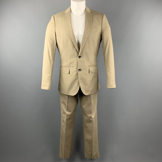 J. CREW Ludlow 38 Regular Khaki Cotton Suit
