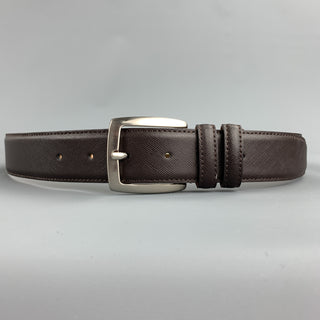 PAUL TAYLOR Size 32 Brown Leather Belt